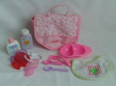 Adorable My 1st Baby Doll Feeding & Accessories Playset